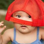 【赤ちゃんの真夏の服装】外出時や寝るときはロンパースだけでよいです!
