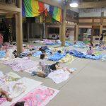 【幼稚園のお泊まり会 】布団やリュックの準備の便利技!